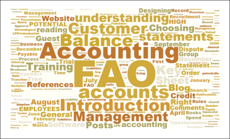 A Blog on Finance and Accounts Outsourcing